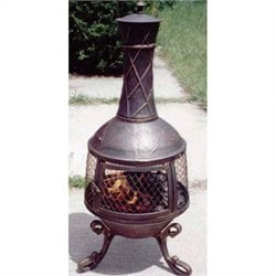 Bowery Hill Chimenea in Antique Bronze