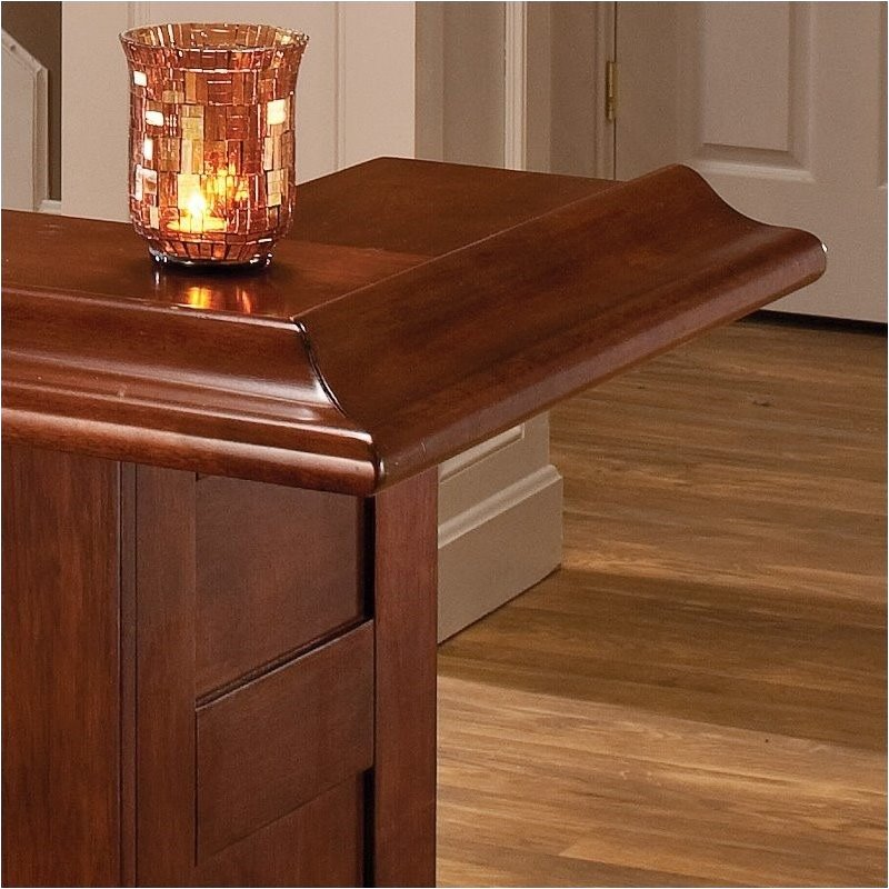 Bowery Hill Cherry Large Home Bar Bh 145858