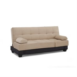 Bowery Hill Convertible Sofa in Harvard Khaki