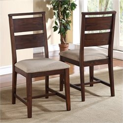 Bowery Hill Dining Chair in Walnut (Set of 2)