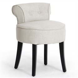 Bowery Hill Lounge Stool in Beige