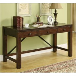 Bowery Hill Writing Desk in Warm Tobacco