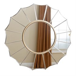 Bowery Hill Round Wall Mirror
