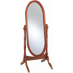 MER-757 Bowery Hill Oval Cheval Floor Mirror
