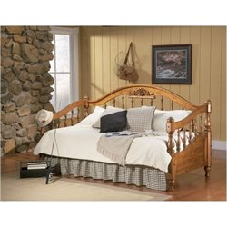 Bowery Hill Twin Wood Daybed in Natural Brown