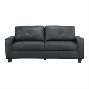 MER-757 Bowery Hill Leather Sofa