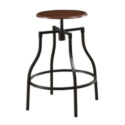 Bowery Hill Casual Adjustable Bar Stool