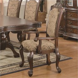 Bowery Hill Upholstered Dining Arm Chair