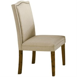 Bowery Hill Parsons Dining Chair in Coffee