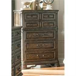 Bowery Hill 7 Drawer Chest in Vintage Espresso