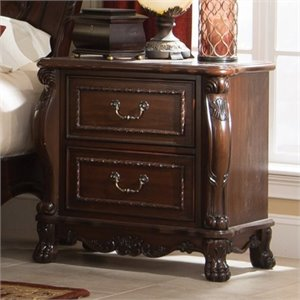 Bowery Hill 2 Drawer Nightstand in Cherry