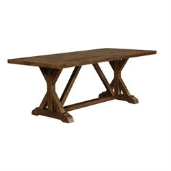 Bowery Hill Dining Table in Weathered Acacia