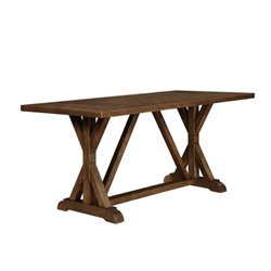 Bowery Hill Counter Height Dining Table in Weathered Acacia