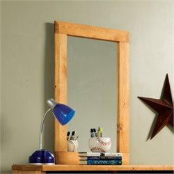 Bowery Hill Tall Mirror in Amber Wash