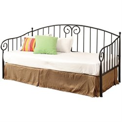 Bowery Hill Twin Metal Daybed in Dark Bronze