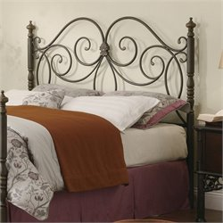 Bowery Hill King Headboard in Antique Bronze