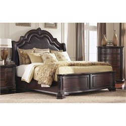 Bowery Hill Bed with Upholstered Headboard