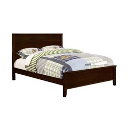Bowery Hill Panel Bed in Cappuccino
