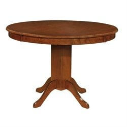 Bowery Hill Round Dining Table in Amber