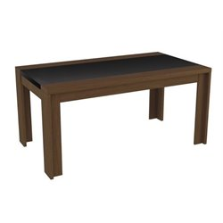 Bowery Hill Dining Table in Nut Brown