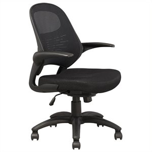 Bowery Hill Mesh Office Chair in Black