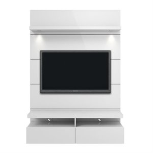 MER-995 TV Stand in Glossy White