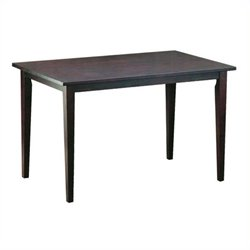 Bowery Hill Dining Table in Light Cappuccino