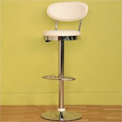 MER-992 Adjustable Swivel Vinyl Bar Stool