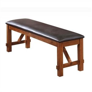 Bowery Hill Bench in Walnut