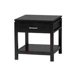 Bowery Hill End Table in Black