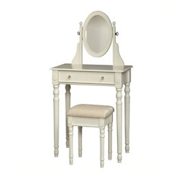 Bowery Hill 2 Piece Vanity Set in White