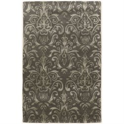 Bowery Hill 8' x 11' Hand Tufted Rug in Slate and Gray