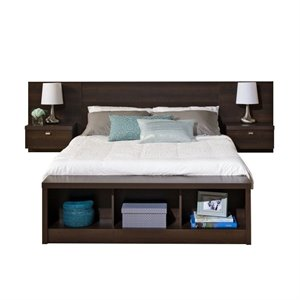 Bowery Hill Platform Storage Bed with Floating Headboard-20161122