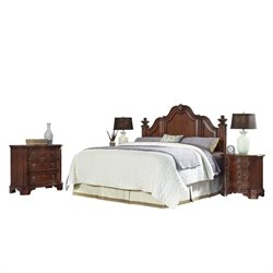 Bowery Hill 4 Piece King California King Headboard Bedroom Set