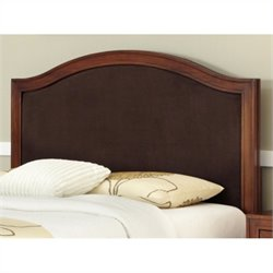 Bowery Hill King Camelback Panel Headboard in Brown