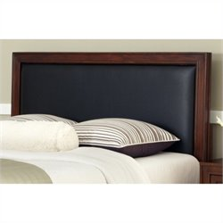Bowery Hill Full Queen Panel Headboard in Black