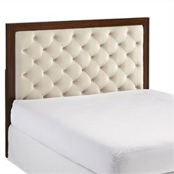 MER-1185 Bowery Hill Tufted Panel Headboard in Cherry 2