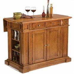 MER-1185 Bowery Hill Kitchen Island with Breakfast Bar