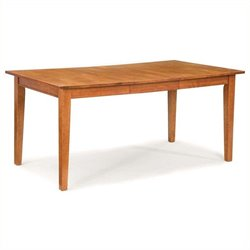 Bowery Hill Extendable Dining Table in Cottage Oak