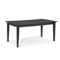 Bowery Hill Extendable Dining Table in Ebony