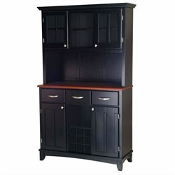 MER-1185 Bowery Hill Buffet with 2 Door Hutch