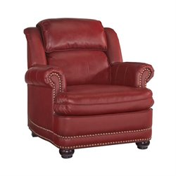 MER-1185 Winston Accent Chair in Red 5201