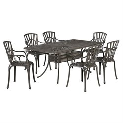 MER-1185 Largo 7 Piece Dining Set