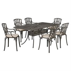 MER-1185 Largo 7 Piece Dining Set (with cushions)