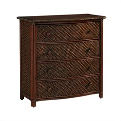 MER-1185 Bowery Hill 4 Drawer Chest in Refined Cinnamon