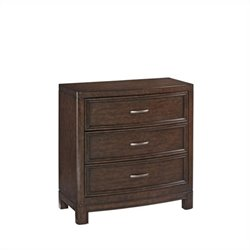 Bowery Hill 3 Drawer Chest in Tortoise Shell