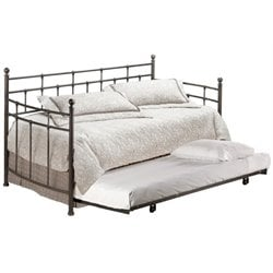 MER-1184 Metal Daybed in Antique Bronze