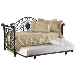 MER-1184 Metal Daybed in Antique Brown 1