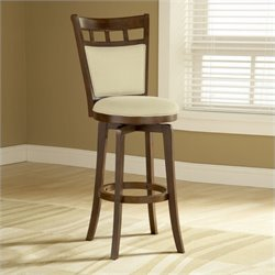MER-1184 Swivel Bar Stool in Brown Cherry