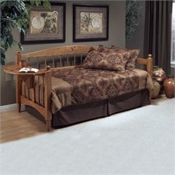 MER-1184 Daybed in Medium Oak